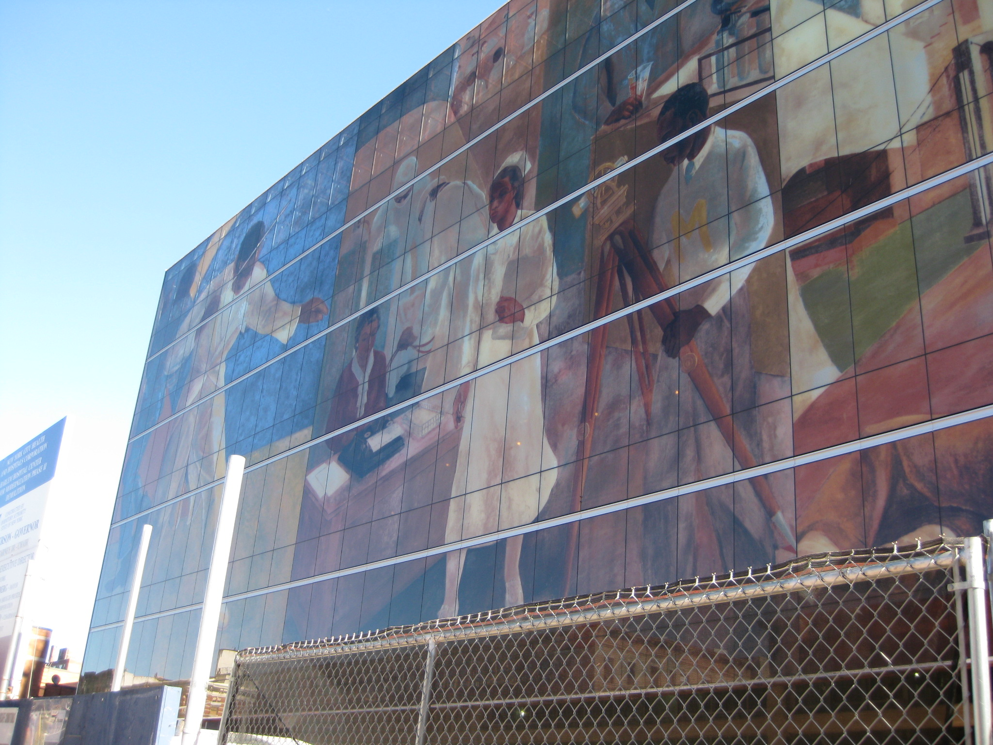 Mural at Harlem Hospital